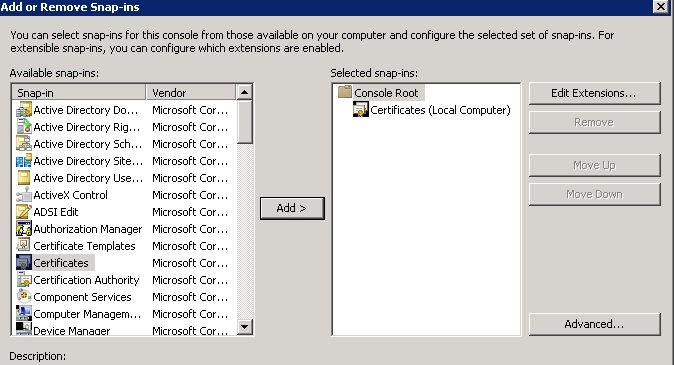 Configuring identity source in sso with secured ldaps techbrainblog click on the root certificate yelopaper Gallery