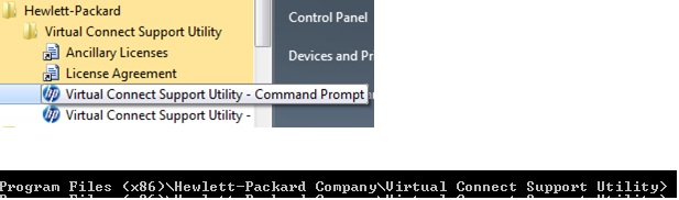Steps to upgrade the firmware of HP Virtual Connect Module using